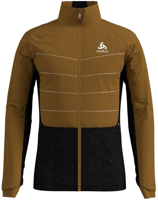 Odlo Millenium S Thermic Veste Homme, golden brownblack
